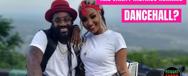 Shenseea and Tarrus Riley